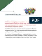 CSR_Policies_Business Philosophy