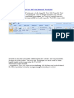 Per Banding An Microsoft Word 2007 Dan Microsoft Word 2003