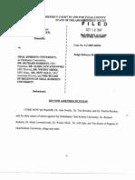 Lawsuit Filed Against Richard Roberts