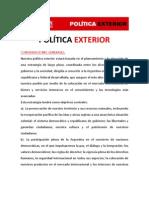 Política exterior - Ricardo Alfonsín 2011