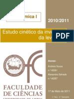 Relatório 6 - Estudo cinético da invertase da levedura