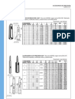 Accesorios de Precision-Conos Morse
