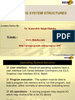 Ch3 OS Structures
