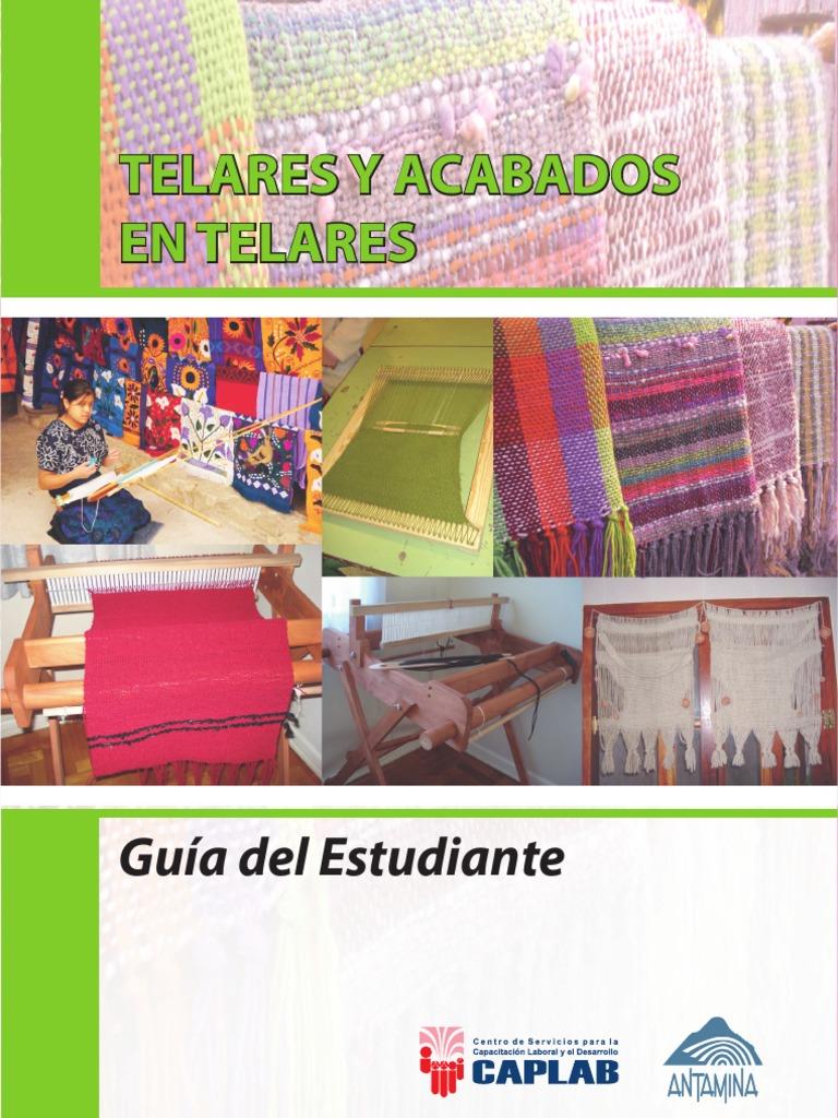 Guia Del Estudiante - Telares y Acabados de Telares