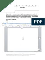 Guía de Estudio Para Cibernética 2° de Secundaria. 1er Bimestre