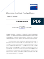 Web 2.0 Educativa