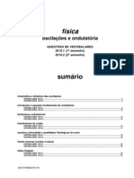 Física - oscilações e ondulatória questões de vestibular 2010