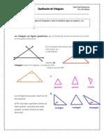 clasificación de Triangulos