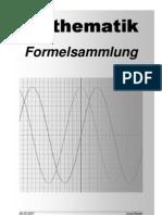 Mathe Formelsammlung A4 Deutsch