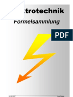 Elektrotechnik Formelsammlung A4 Deutsch