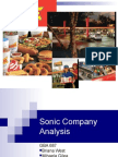 Sonic Power Point Slides FA