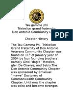 Tau Gamma Phi