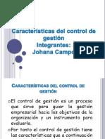 Caracteristicas Del Control de Gestion 2011