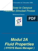 Modul 2A Hysys - Fluid Properties