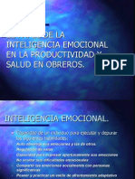 Inteligencia Emocional y Productividad Documento