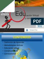 Educacion Virtual y Constructivismo