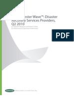 Forrester Wave Market Research DR
