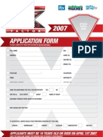 Series 4 Application Form