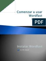 Comenzar a Usar Wordfast