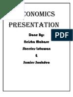 Economics Presentation