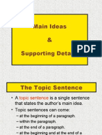 Acad Com Main Idea Supp Details - Note Form