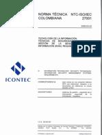 ISO-IEC NTC 27001 Spanish Resaltdo