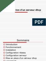 Configuration d'un sérveur dhcp