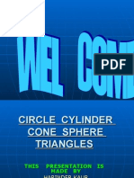Circle Cylinder Cone Sphere Triangles_libra