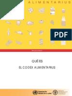 Codex Alimentarius 2006