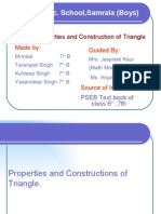 Properties and Construction of Tringle SamralaB
