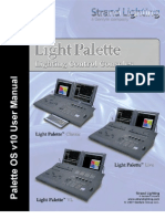 Palette OSv10 Software User Manual