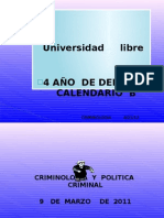 Diapositivas de Criminologia