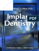 Principles and Practice of Implant Dentistry 2001 - Weiss (18-15)