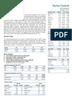 Market Outlook 3rd October 2011