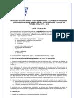 Ufpb - Mestrado Edital - Selecao_22