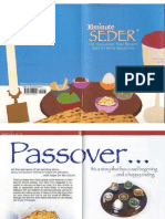 30minute Seder, The Haggadah That Blends Brevity With Tradition