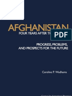 Afghanistan - Four Years On