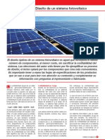 Disenio de Un Sistema Fotovoltaico