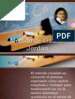 Método de Gauss- Jordán