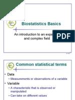 Statistic Basics