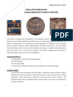 Aaron Moreno - Mediterranean History - Syllabus