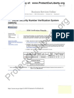 Obama's SSN Never Legally Issued per Social Security Nbr Verification System (SSNVS)