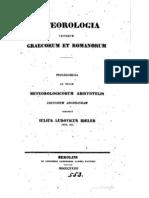 Meteorologia Veterum Graecorum Et Romanorum