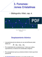 Cap3Fonones-VibracionesCristalinas
