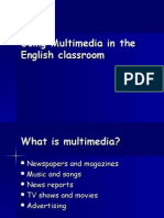 Using Multimedia in the English Classroom (Handout)
