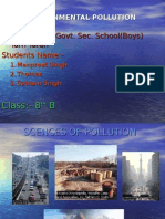 Pollution 8th B Tarn Taran(B) Tarn Taran