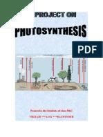 Photosynthesis Verka(b) Amritsar