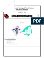 Health Insurance Study DB Project