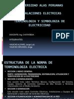 Terminologia y Simbologia Electrica