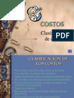 CCLASIFICACION DE LOSCOSTOS